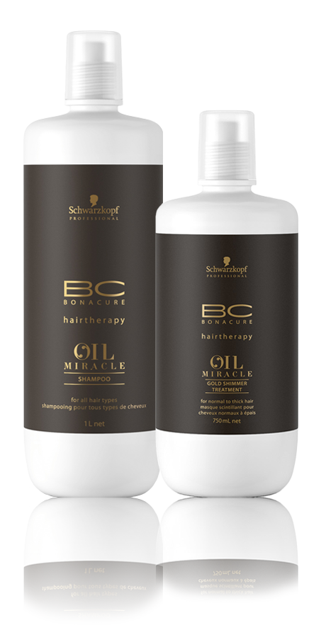 Schwarzkopf Professional BC Bonacure Oil Miracle Kit Duo Salon