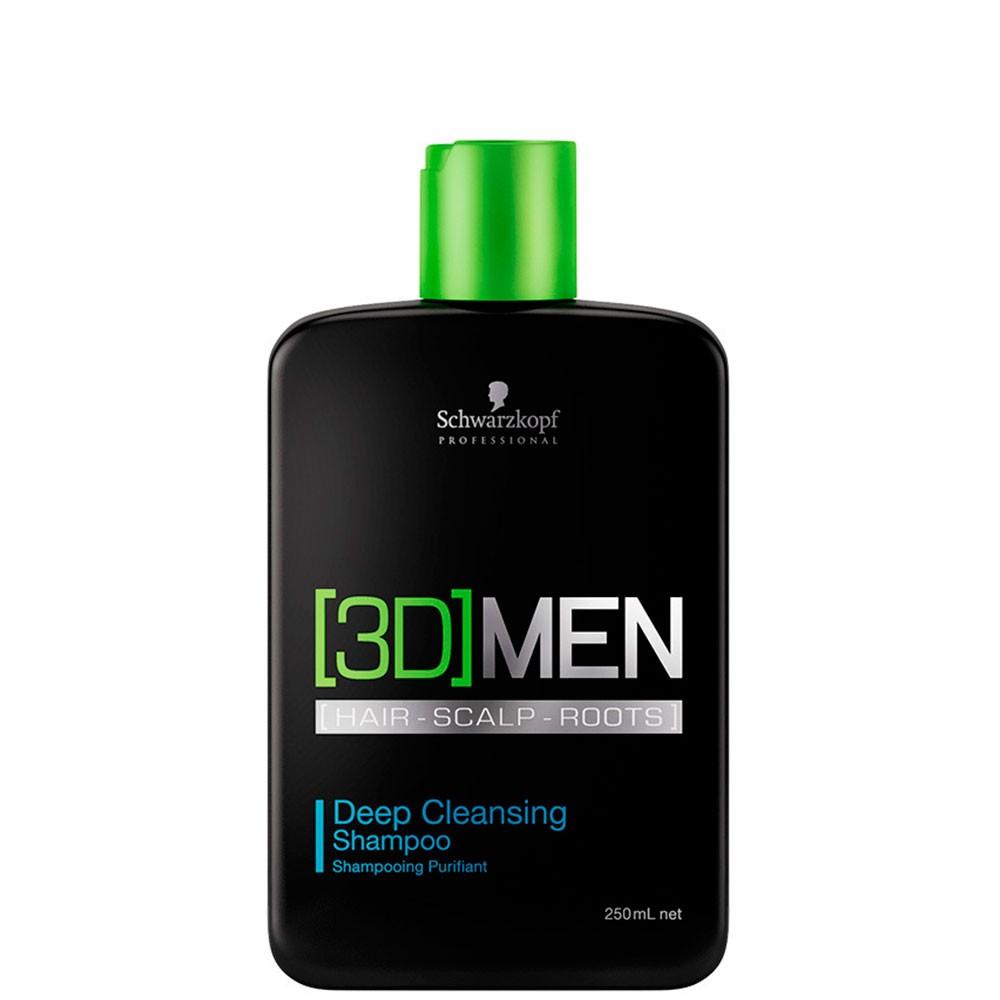 Shampoo 3D Men Anti-Oleosidade 250ml