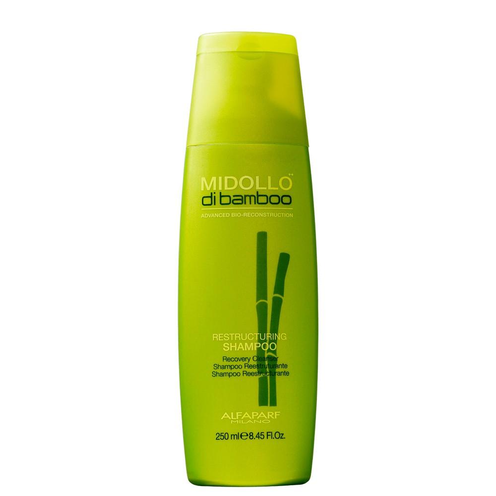 Shampoo Alfaparf Midollo Di Bamboo Reconstrução para Cabelo