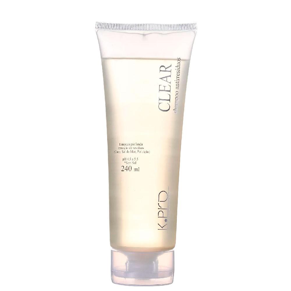 Shampoo Antirresíduo KPro Clear Limpeza Profunda 240ml