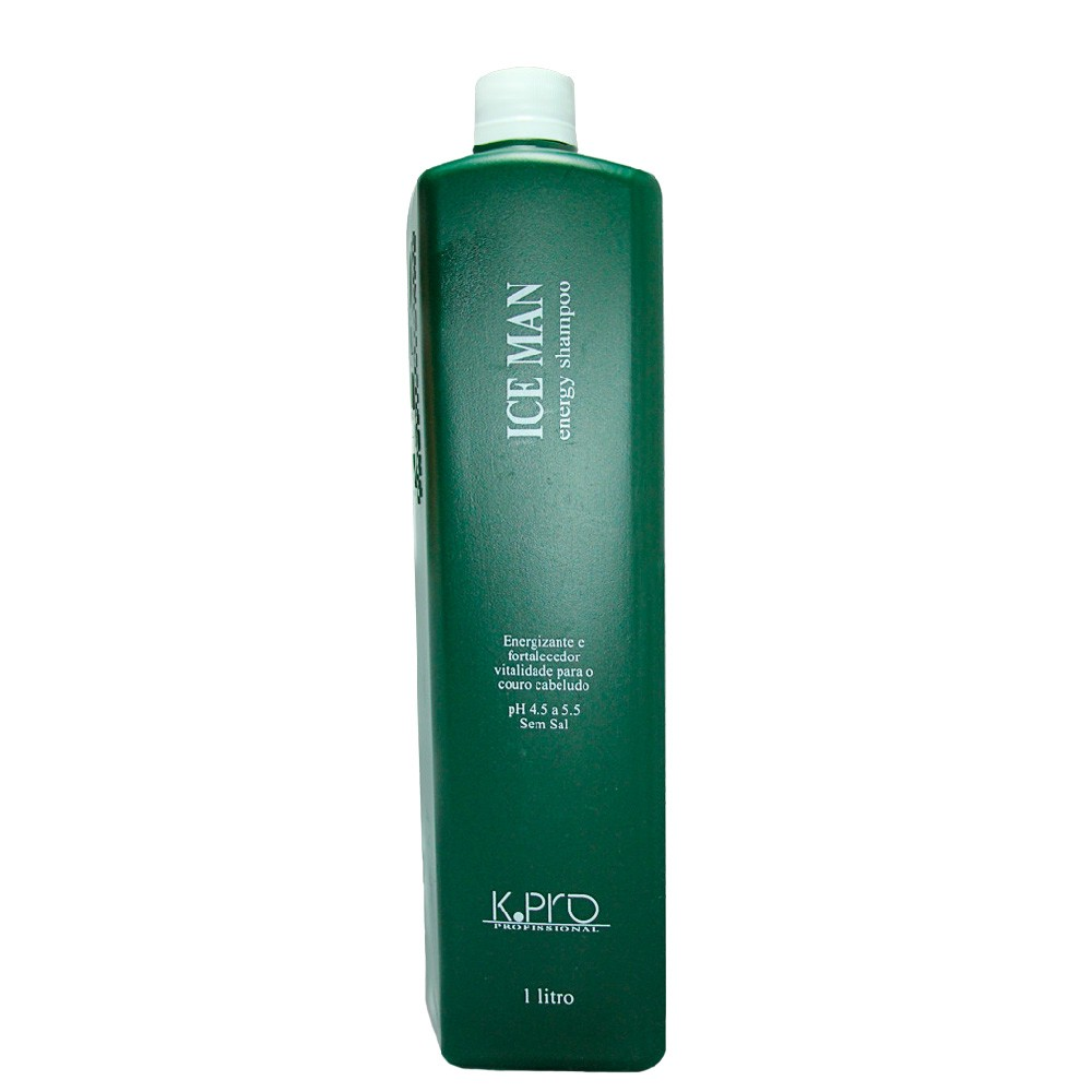 Shampoo Energizante KPro Ice Man Energy Profissional 1l