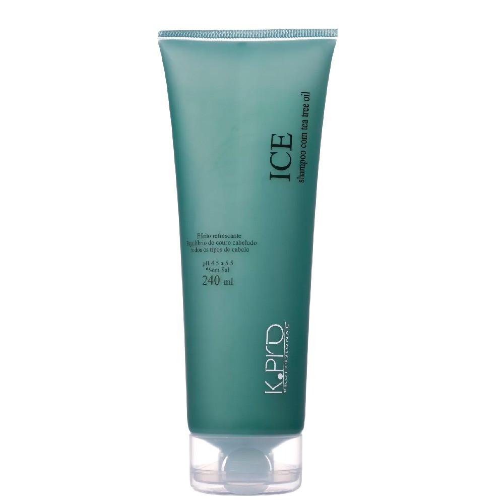 Shampoo Equilíbrio Couro Cabeludo KPro Ice Tea Tree Oil 240ml
