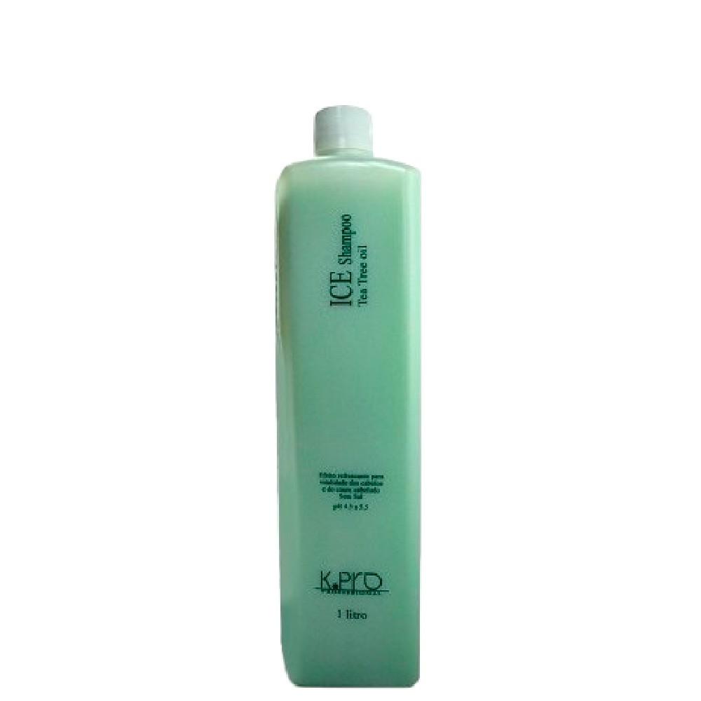 Shampoo Equilíbrio KPro Profissional Ice Tea Tree Oil 1L