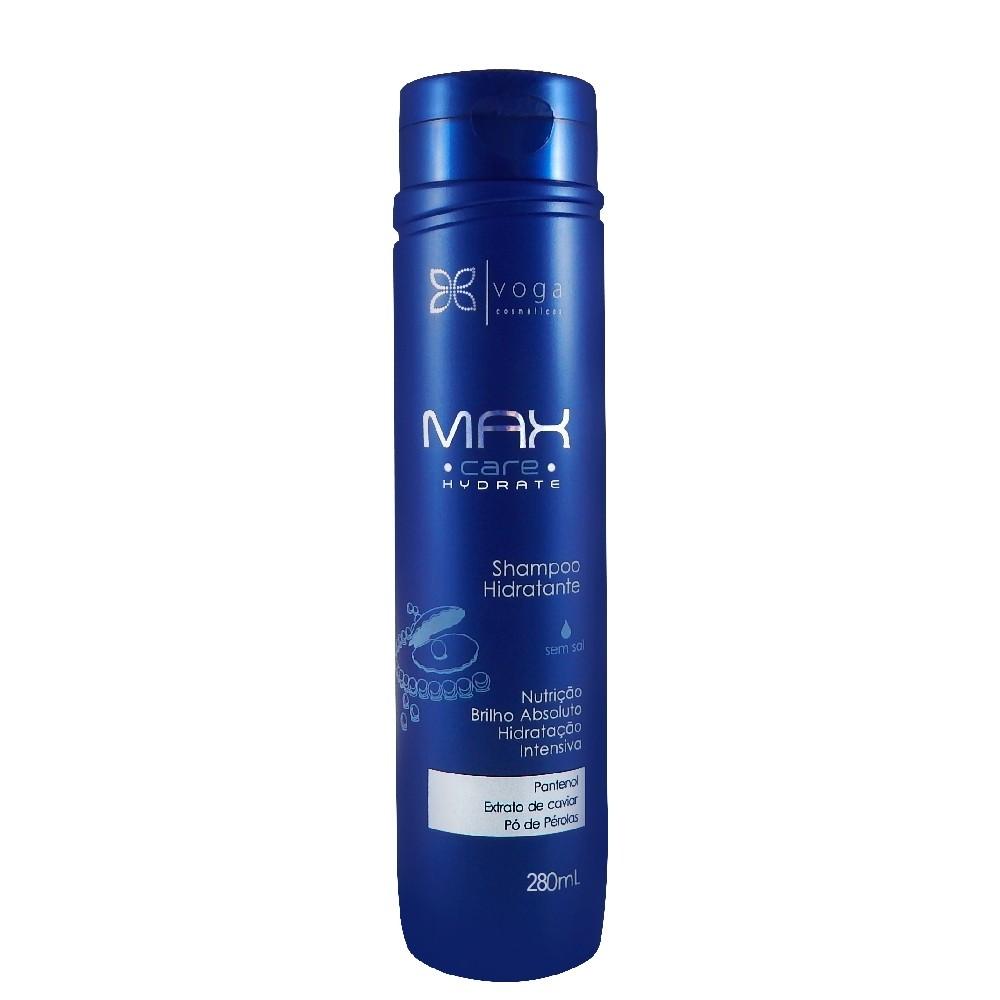 Shampoo Hidratante Voga Max Care Hydrate 280ml