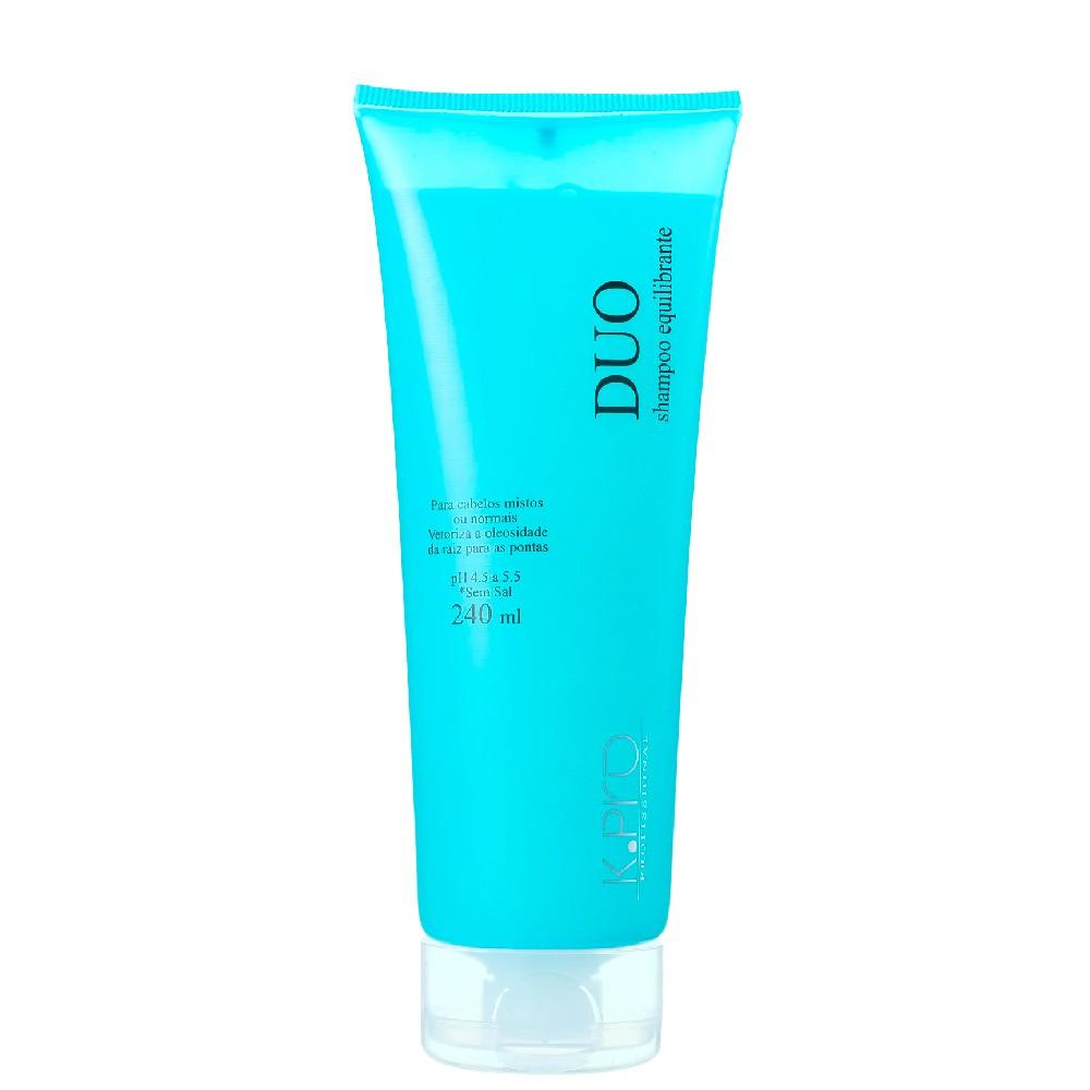 Shampoo KPro Duo Elimina a Oleosidade da Raiz 240ml