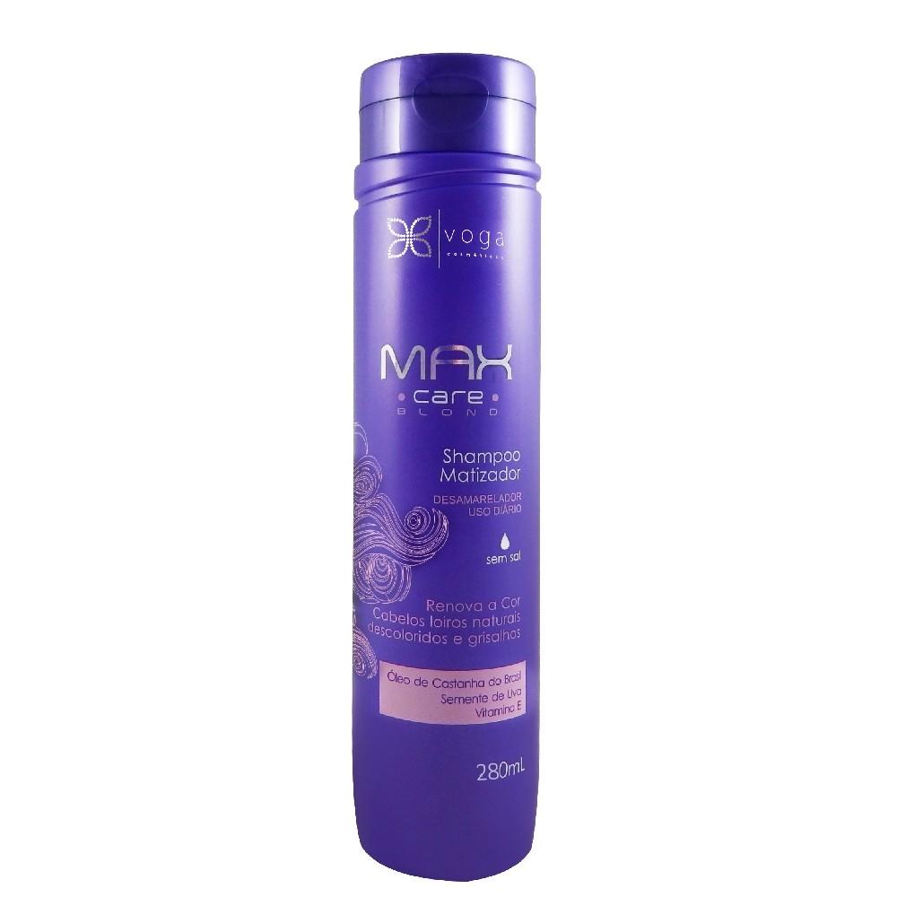 Shampoo Matizador Voga Max Care Blond 280ml