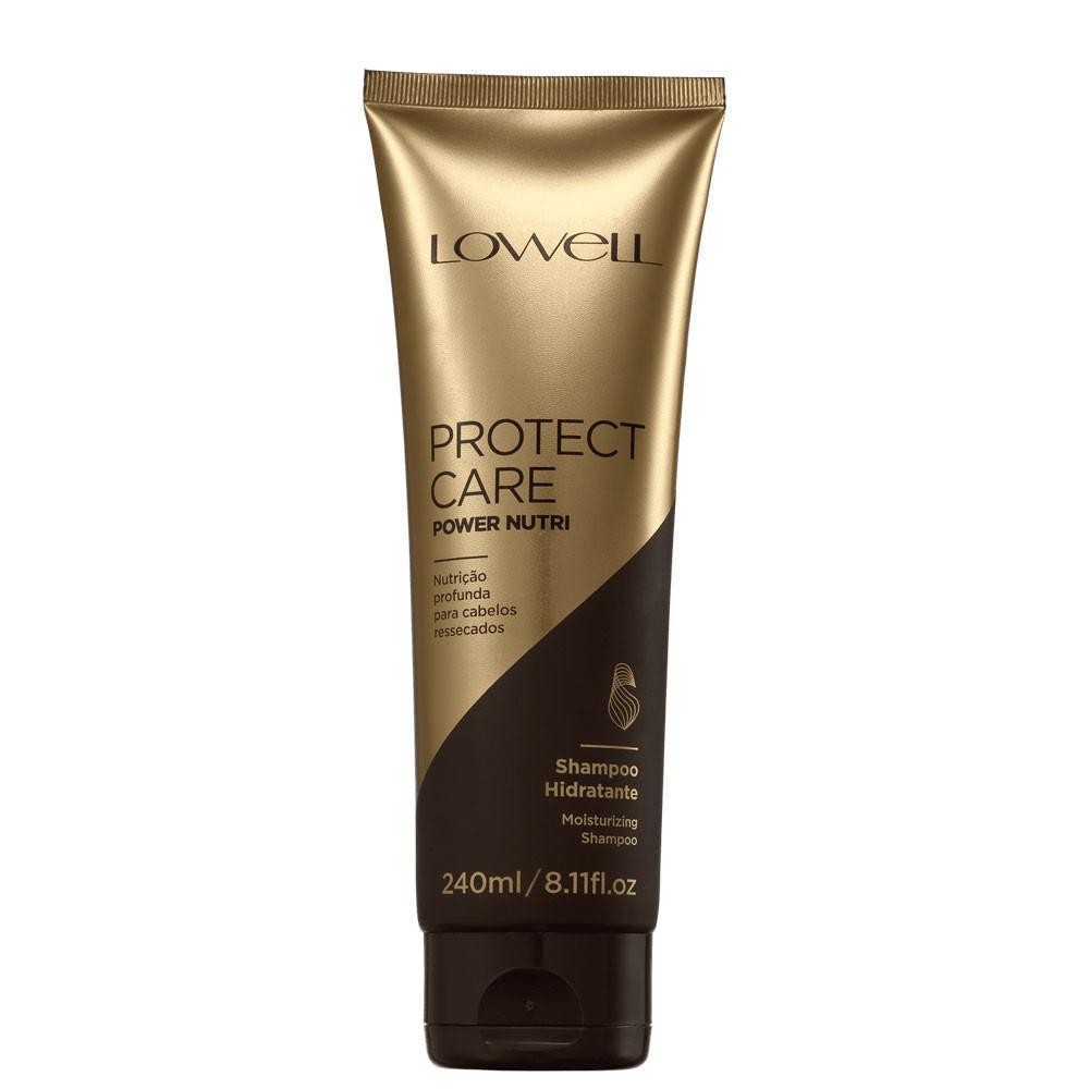 Shampoo Protect Care Lowell Power Nutrição Profunda 240ml