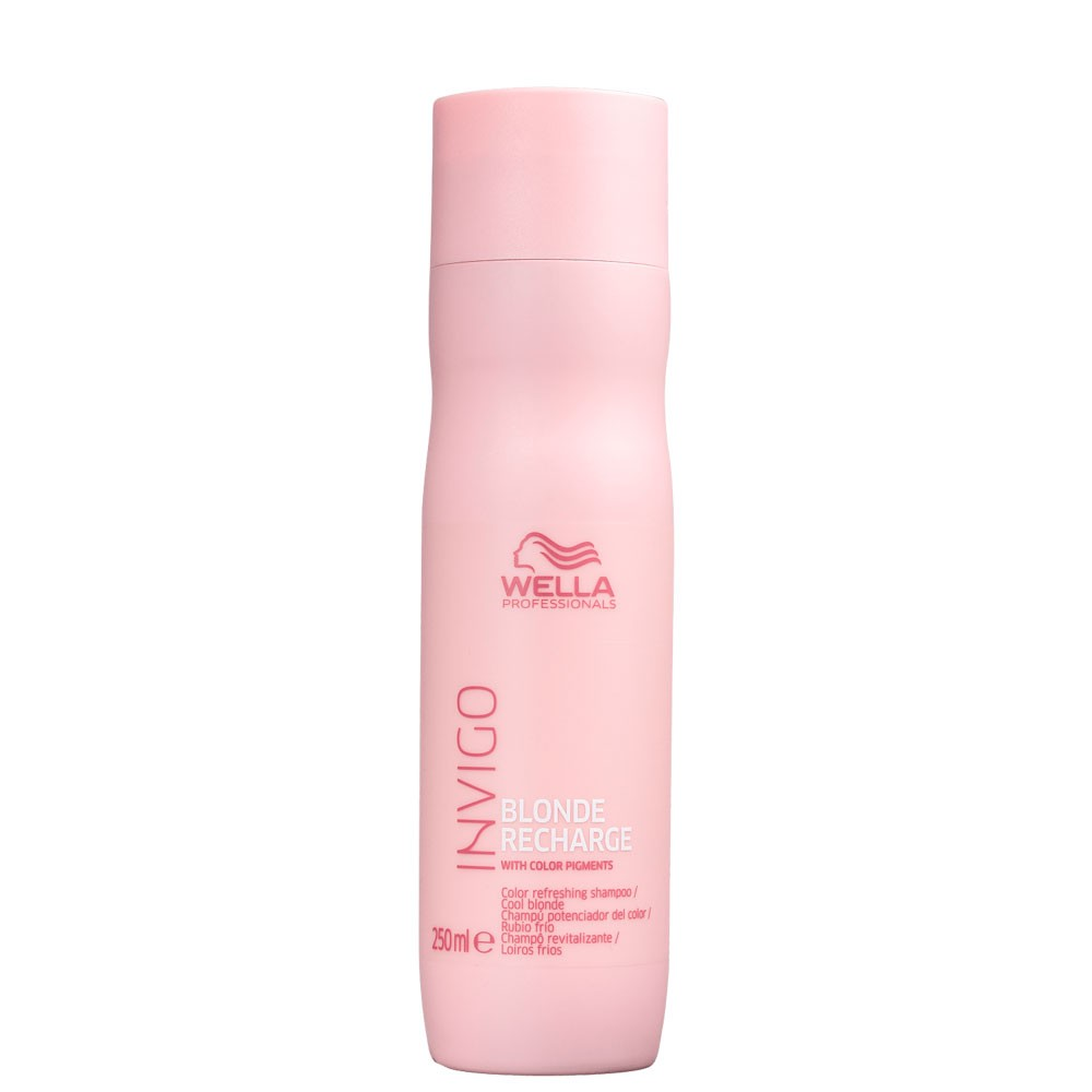 Shampoo Wella Invigo Blond Recharge Cuidado Com Loiro 250ml