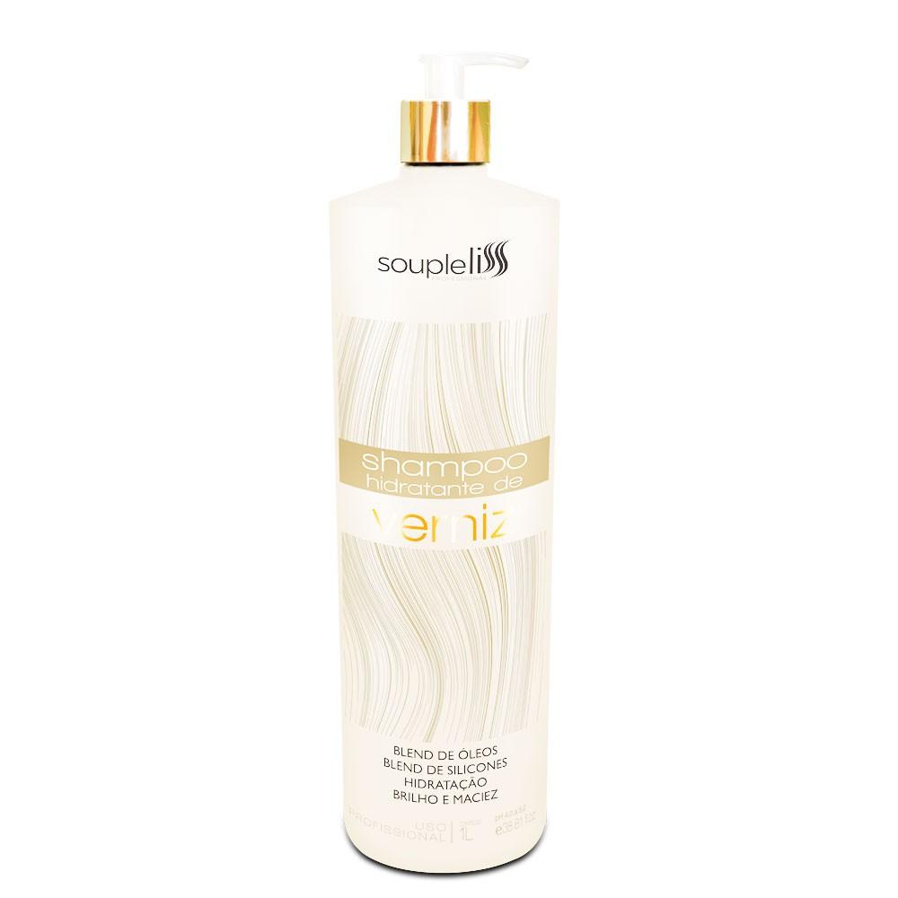 Soupleliss Shampoo Hidratante De Verniz Brilho e Maciez 1L