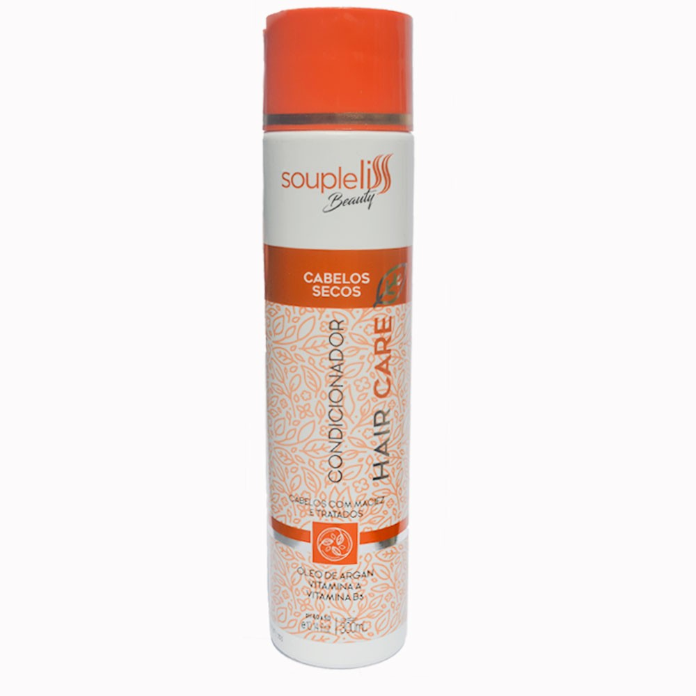 Soupleliss Beauty Hair Care Condicionador Para Cabelos Secos 300ml