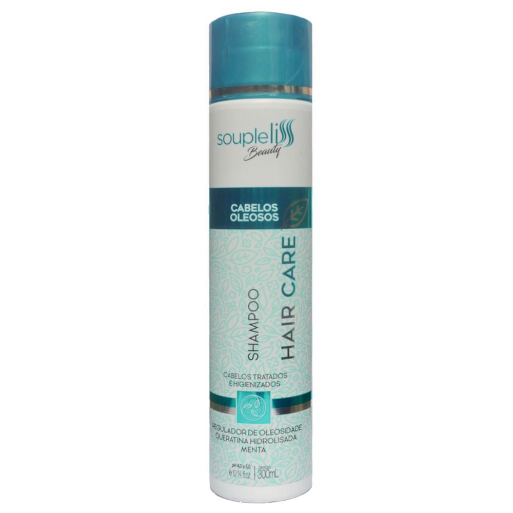 Soupleliss Beauty Hair Care Shampoo Para Cabelos Oleosos 300ml