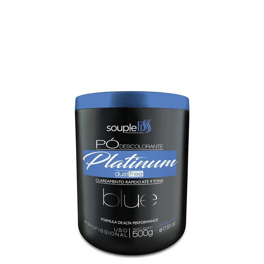 Soupleliss Pó Descolorante Blue Platinum DustFree 9 Tons