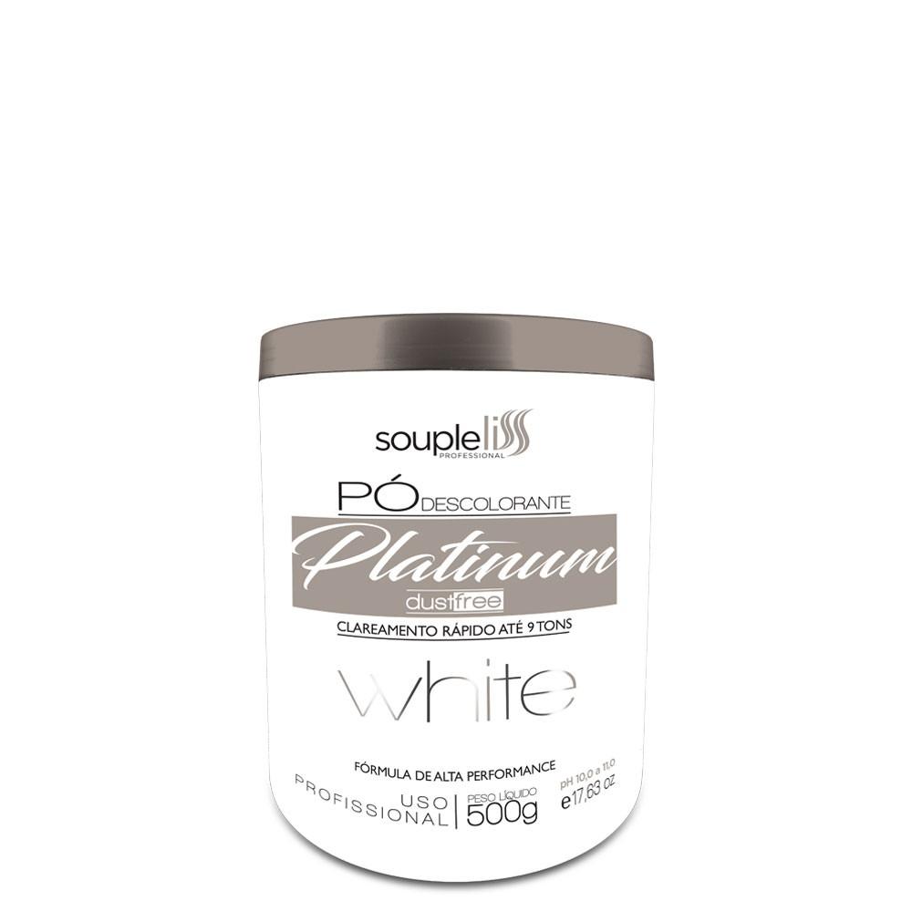 Soupleliss Pó Descolorante Platinum White DustFree 9 Tons