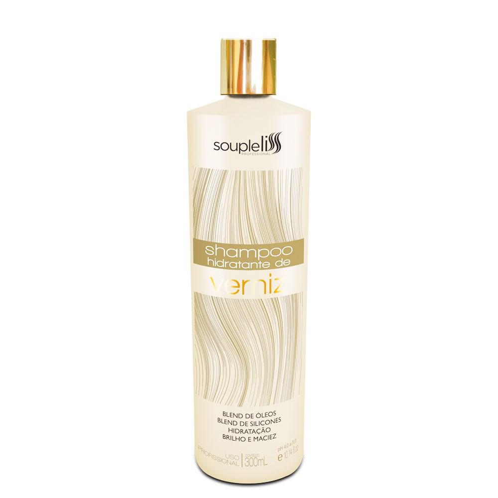 Soupleliss Shampoo Hidratante De Verniz Brilho Maciez 300ml