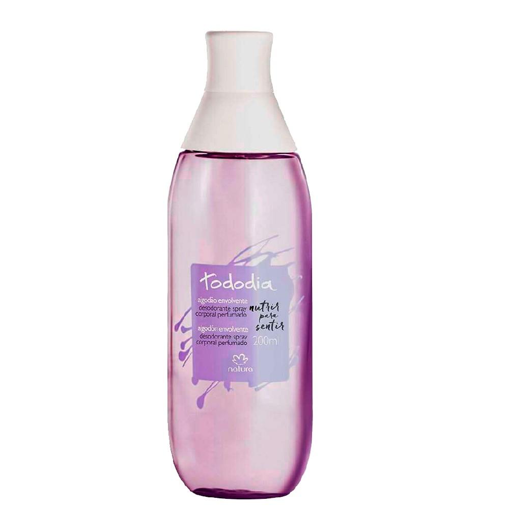 Spray Algodão Envolvente Natura Todo Dia Desod. Colônia