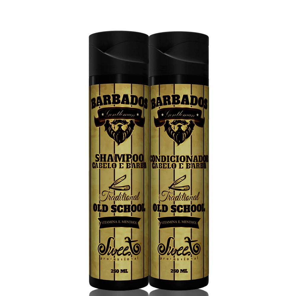 Sweet Hair Barbados Masculino Kit Duo (2 Produtos)