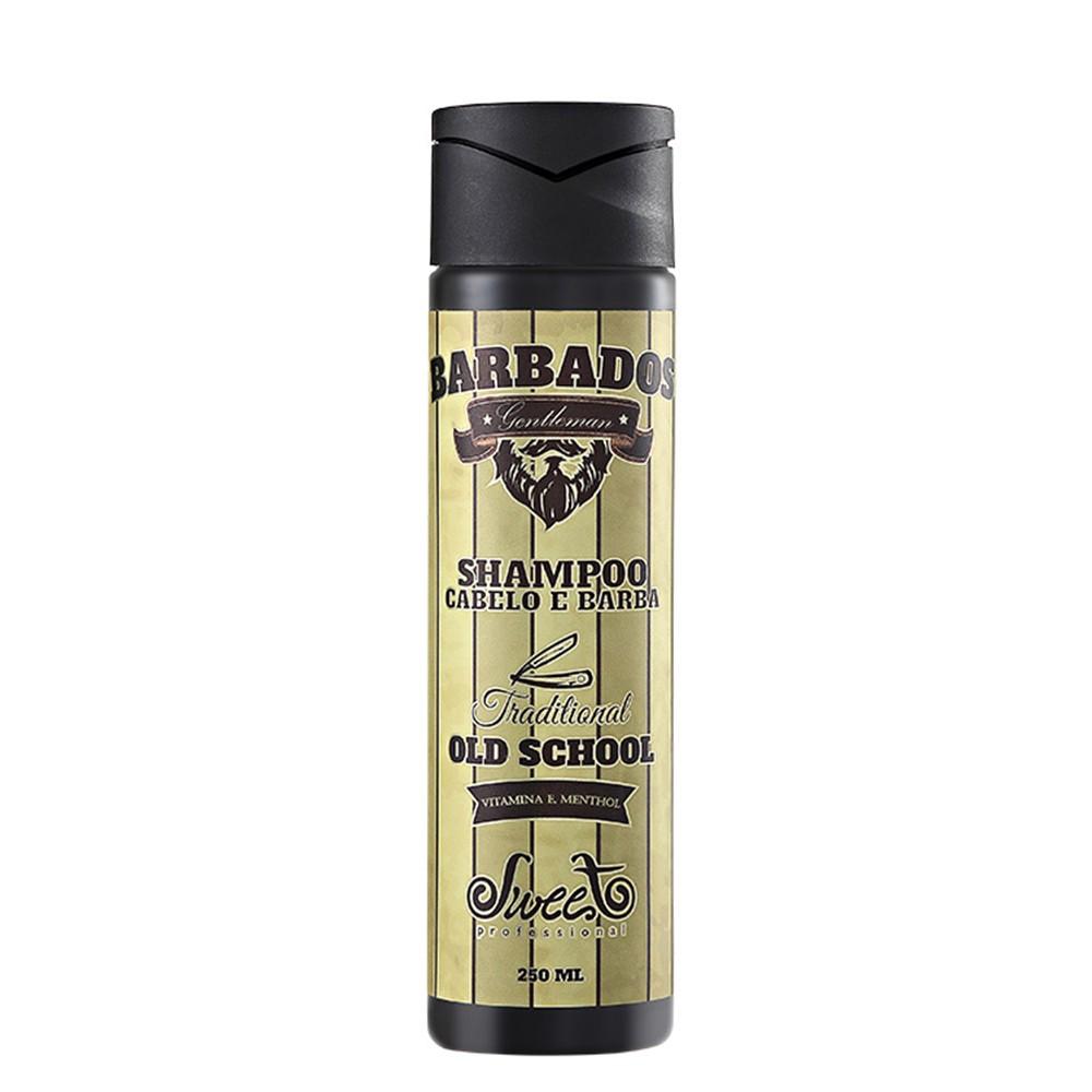 Sweet Hair Barbados Shampoo Masculino 250ml