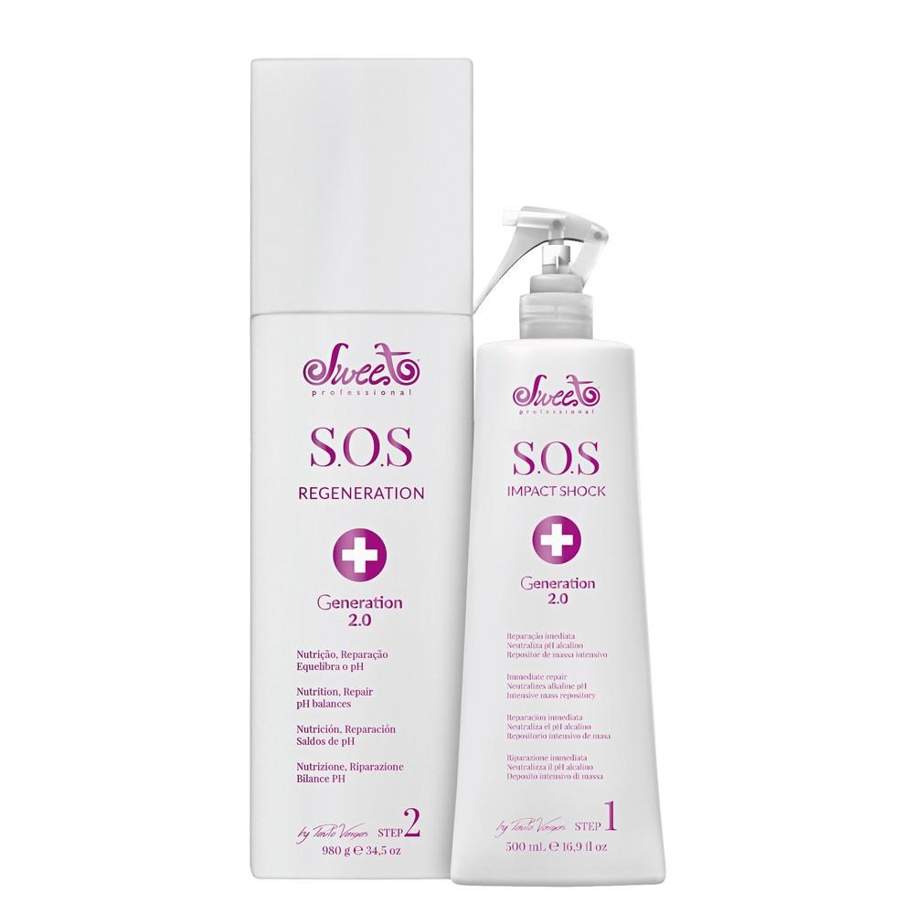 Sweet Hair Kiss Me SOS Kit Tratamento