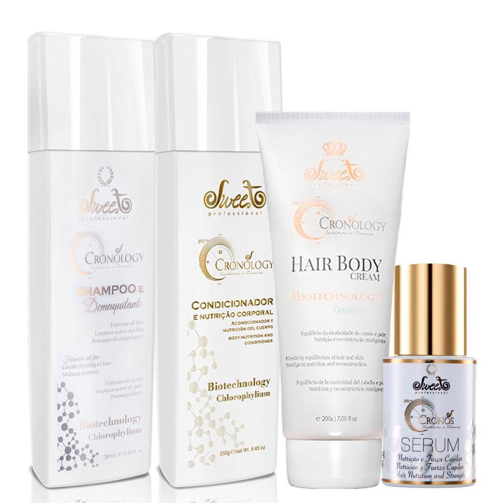 Sweet Hair Kit Cronos Tratamento Completo