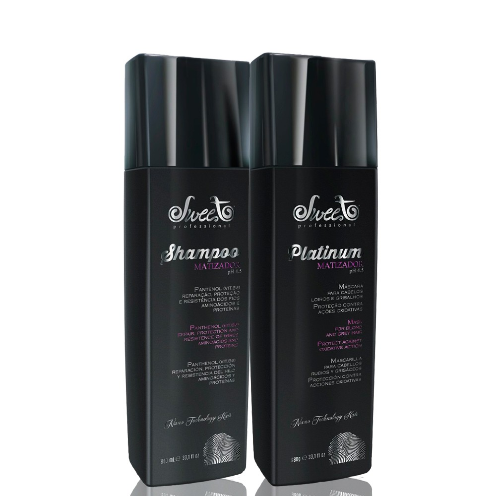 Sweet Hair Merci Platinum Kit Duo Salon (2 Produtos)