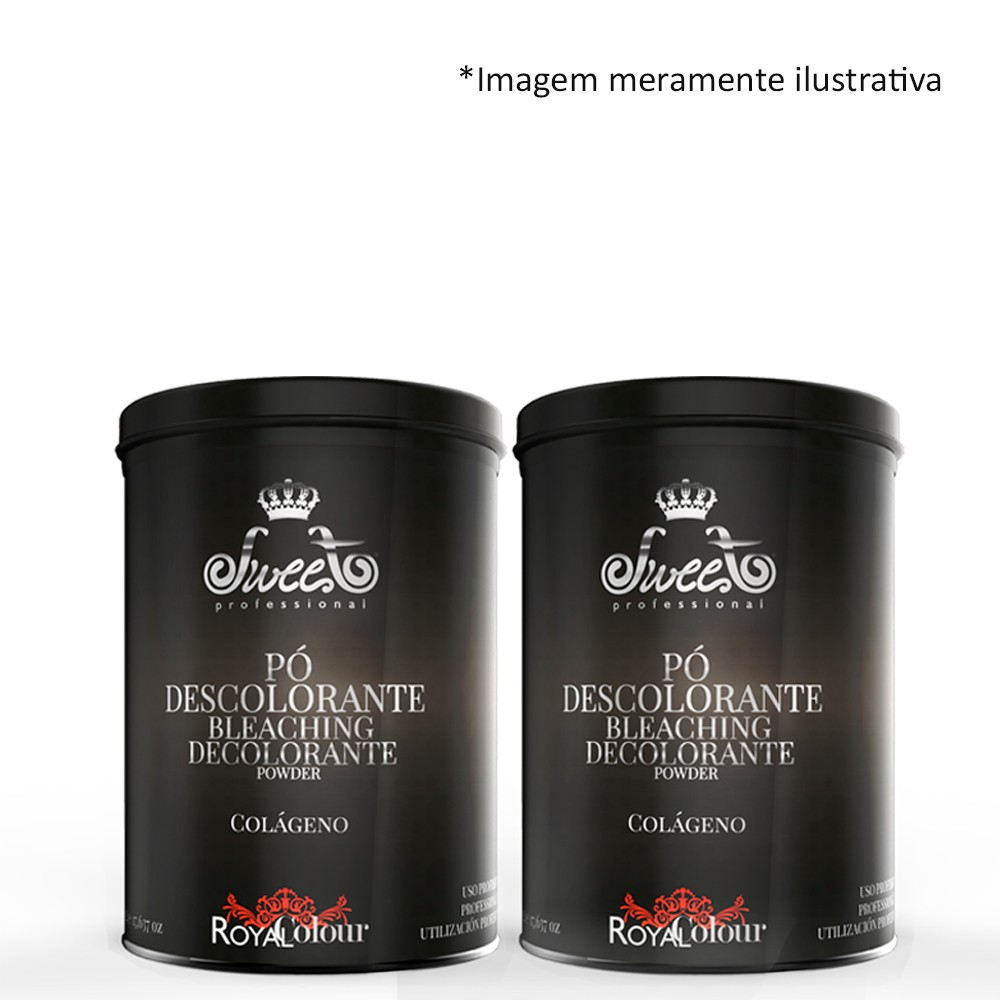 Sweet Hair Royal Colour Pó Descolorante 2x 500g