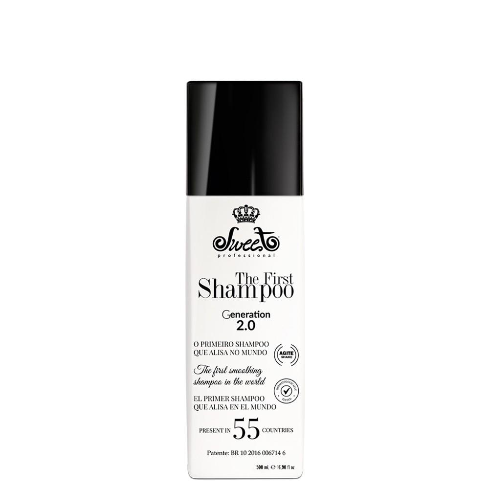 Sweet Hair The First 2.0 Liso Intenso Shampoo Alisante  500ml