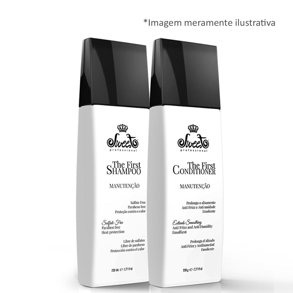 Sweet Hair The First Manutenção 2 Shampoo + 2 Condicionador
