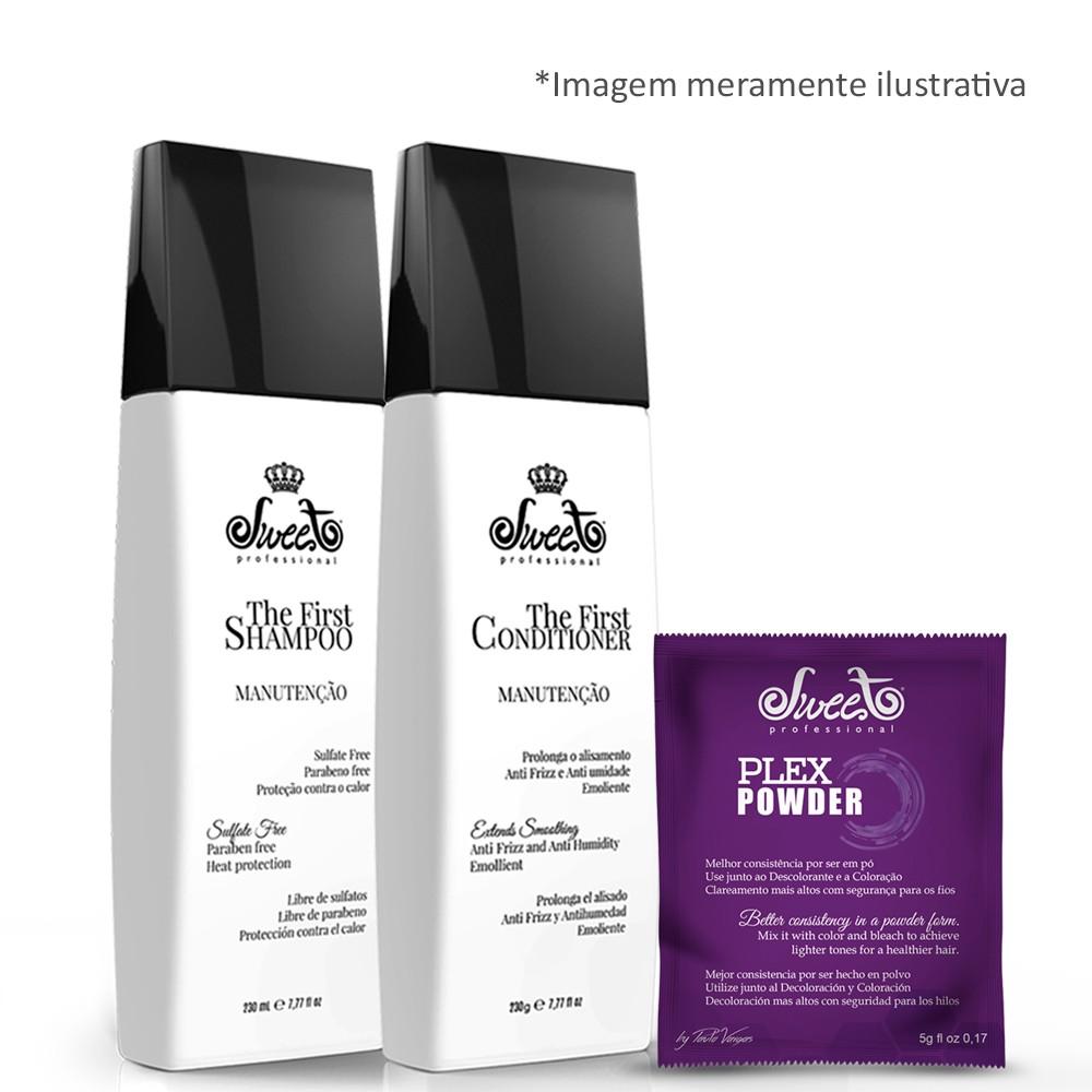 Sweet Hair The First Manutenção Shampoo + Cond. + 6 Plex