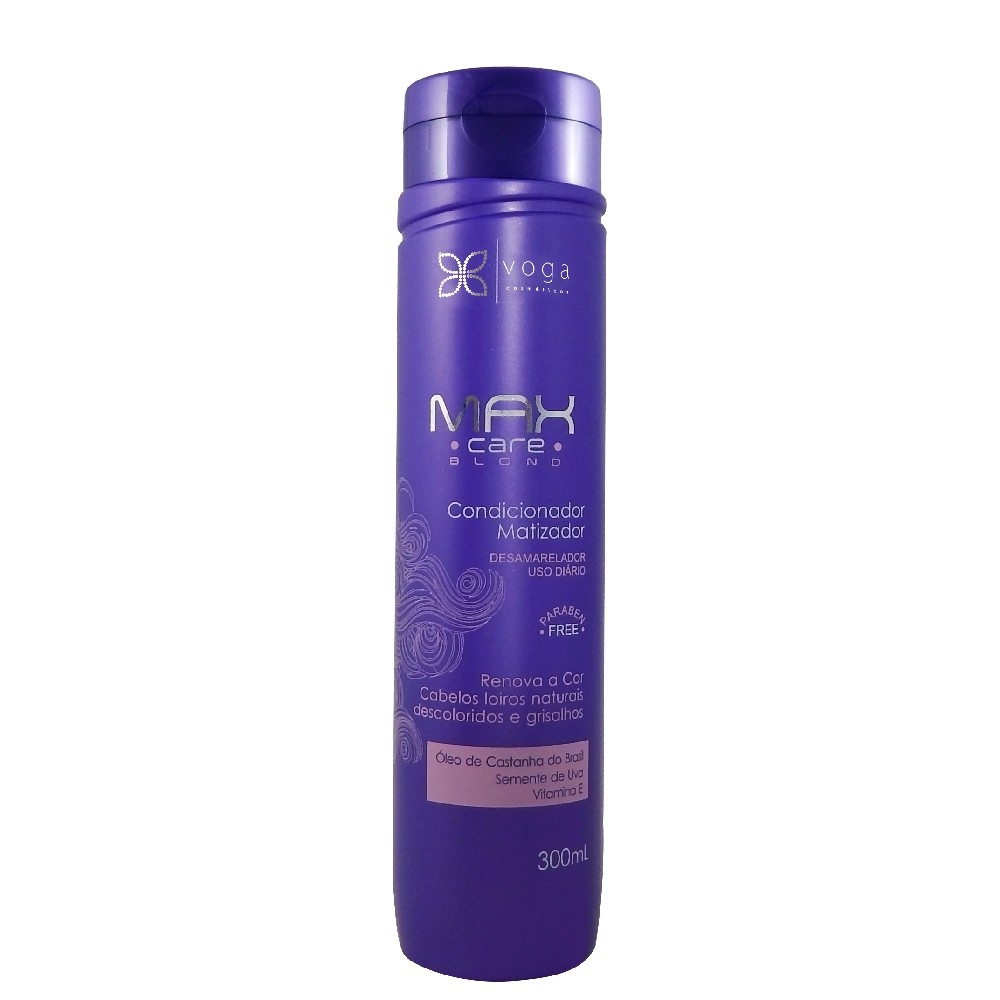Voga Max Care Blond Condicionador Matizador 300ml