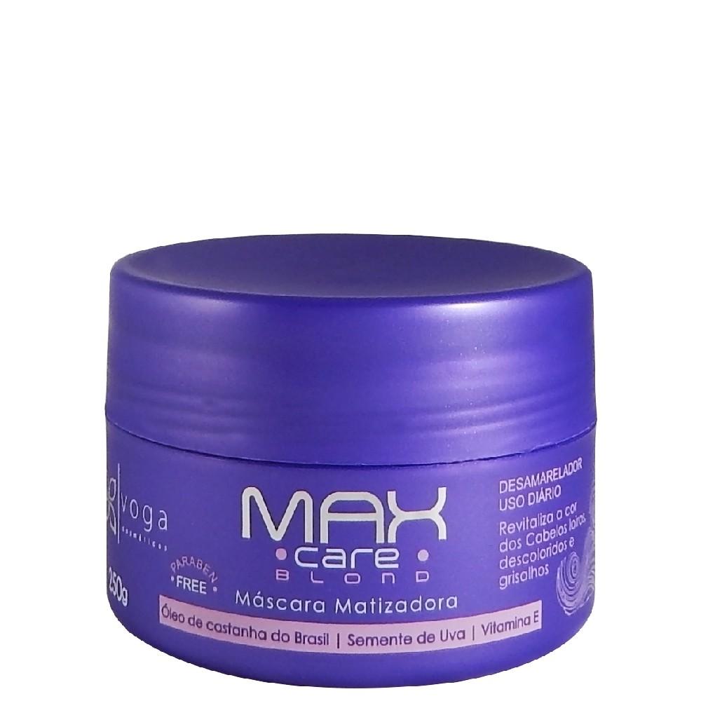 Voga Max Care Blond Máscara Matizadora 250g