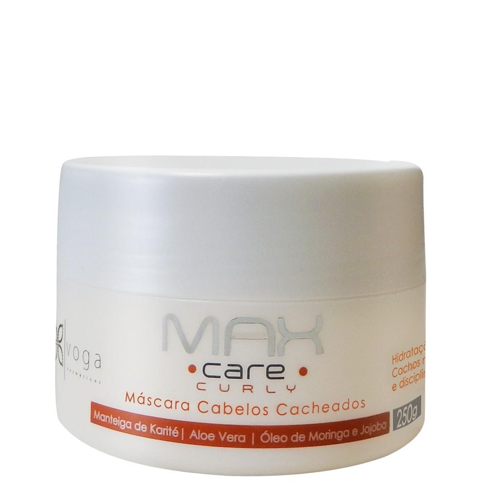 Voga Max Care Curly Máscara Cabelos Cacheados 250g