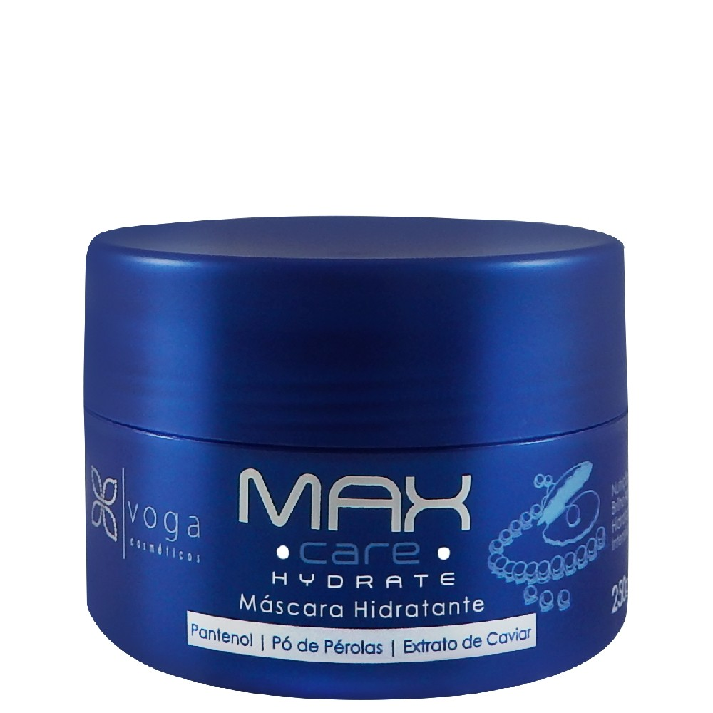 Voga Max Care Hydrate Máscara Hidratante 250g