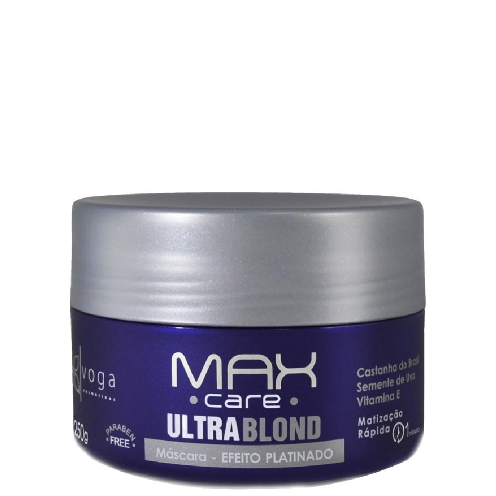 Voga Max Care Ultra Blond Máscara Efeito Platinado 250g