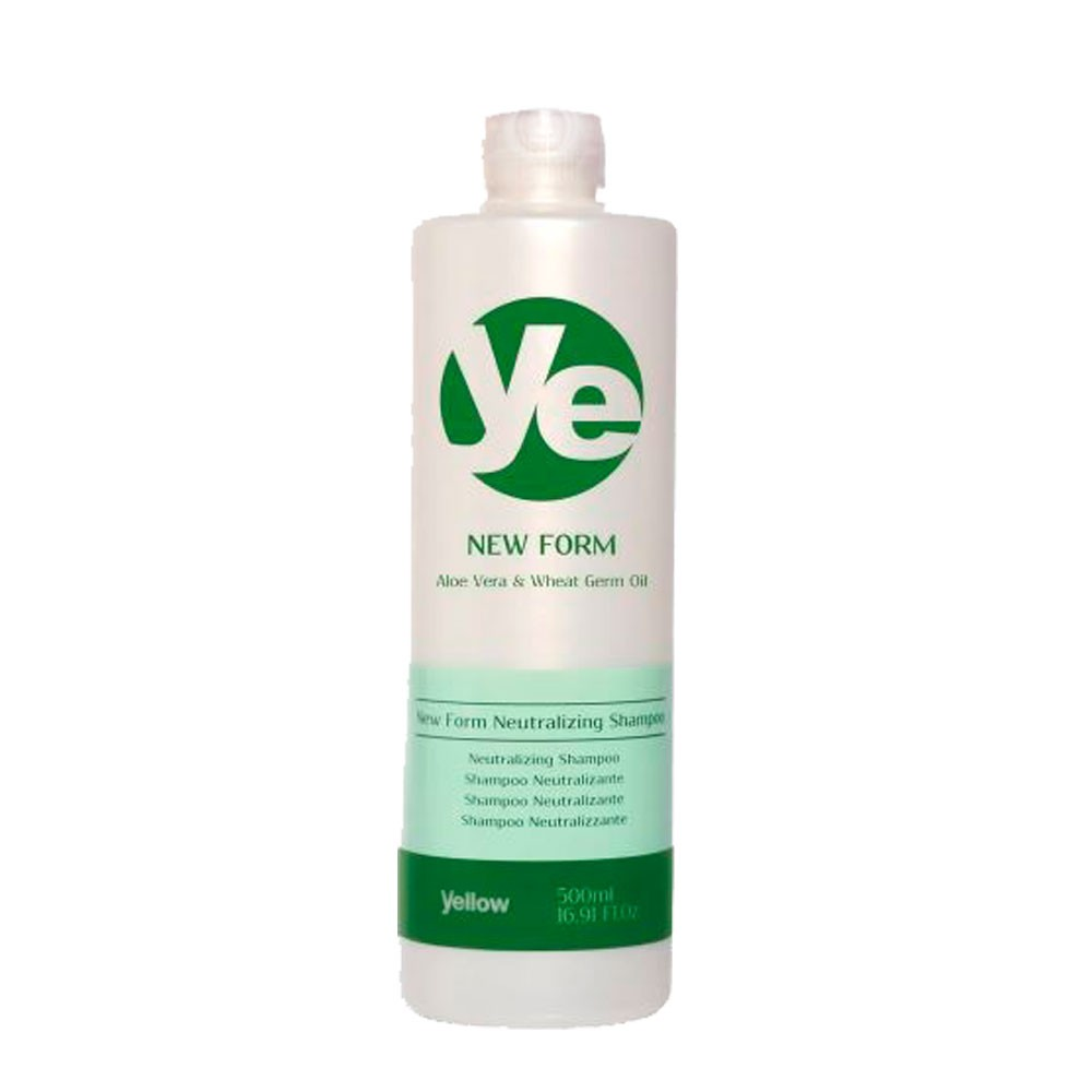 Yellow New Form Shampoo Neutralizante Cabelos Hidratados