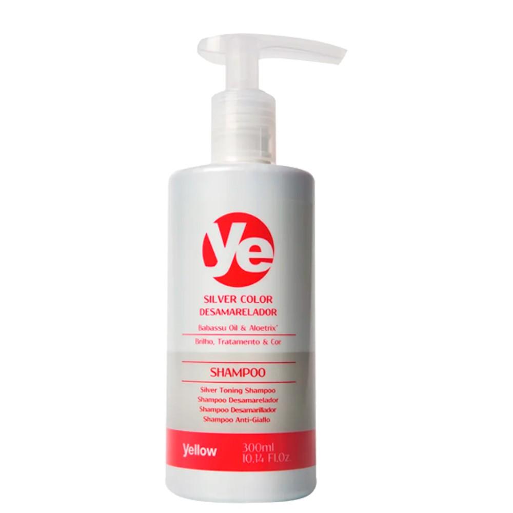 Yellow Silver Color Shampoo Desamarelador Força Resistência