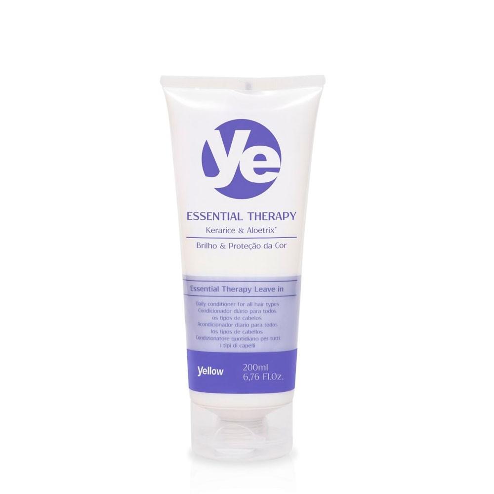 Yellow Ye Essential Therapy Leave-in Brilho Proteção da Cor