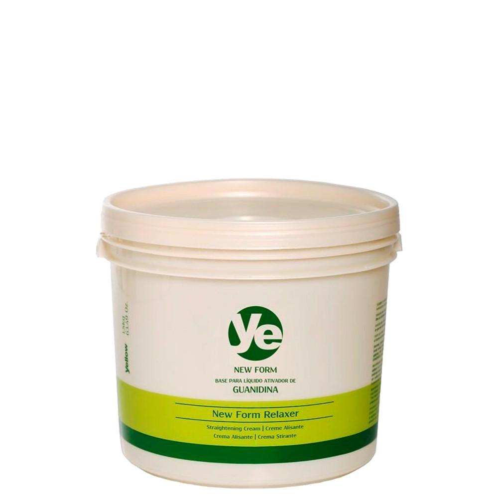 Yellow Ye New Form Relaxer Ativador Guanidina Alisante 1,8kg