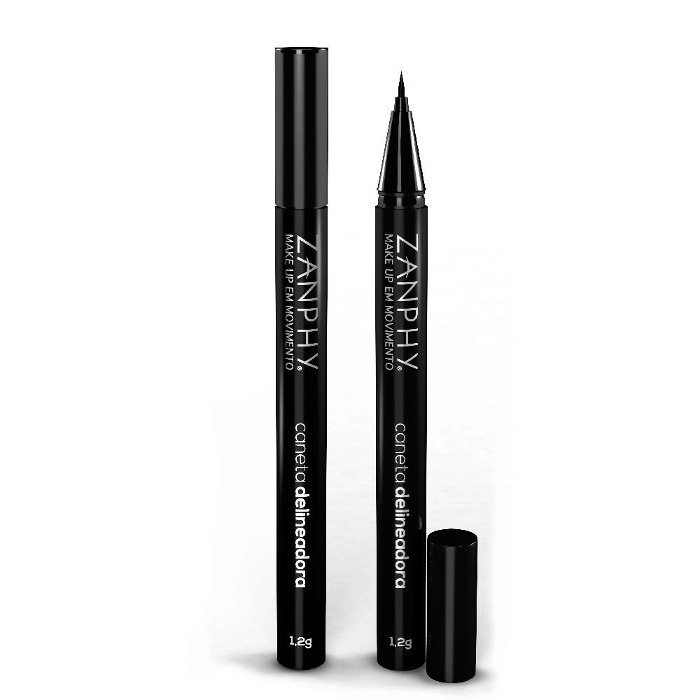 Zanphy Caneta Delineadora Preto Carbon Black Perfeita Traçado Firme