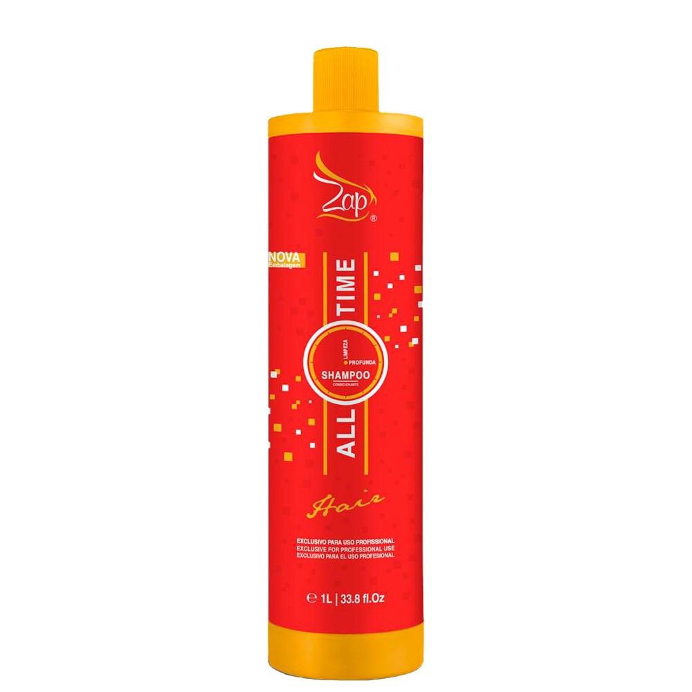Zap All Time Shampoo Limpeza Profunda 1Litro