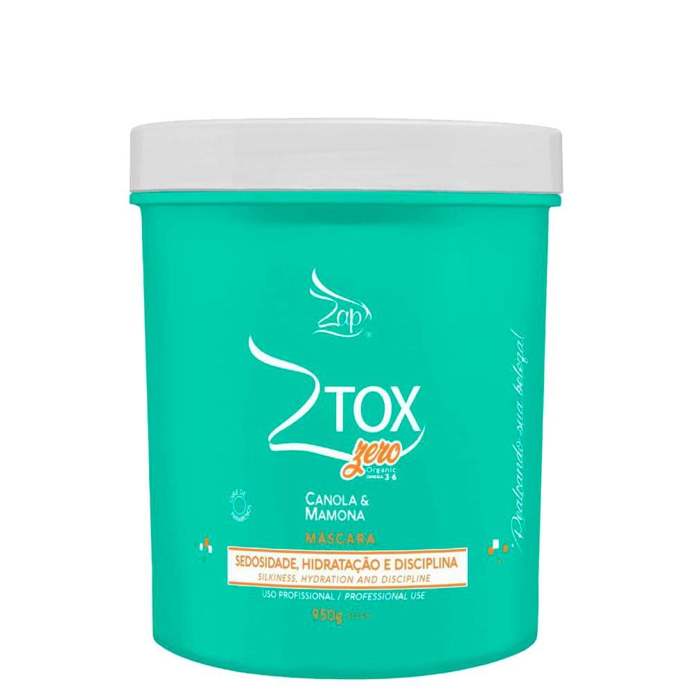 Zap Ztox Zero Máscara Condicionante Canola e Mamona 950g/33.5fl.oz