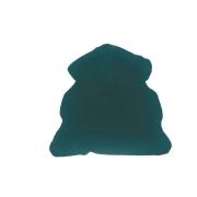 Pelego de Carneiro(Ovelha) com Lã Natural Aprox. 0,70X0,90m Verde