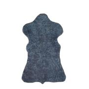Pelego de Carneiro(Ovelha) com Lã Tosado Cinza 0,50x0,75