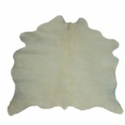 Tapete de Couro  Natural 0,75x0,75m Branco