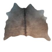 Tapete de Couro Natural  1,10x1,25 Tons de Marrom Claro