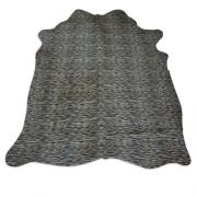 Tapete de Couro Natural 1,50x1,95m Serigrafado Tigre