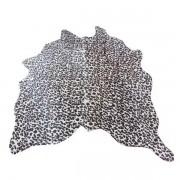 Tapete De Couro  Natural  1,70x1,60m Onça