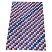 Tapete de Couro Quadriculado 1,20x1,80m Colorido