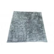 Tapete Importado Sintetico 1,00x2,00m  Cinza c/Antiderrapante