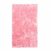 Tapete Importado Sintetico 1,50x1,85m Rosa c/ Antiderrapante
