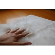 Tapete Importado Sintetico 1.95x2.45m Branco c/Antiderrapente